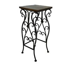 sellette console table gigogne d appoint ideal porte plante ou autre fer bois