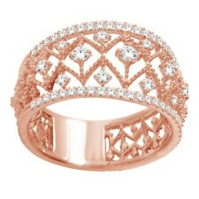 10K Rose Gold Women's Ring Set with 0.50CT Diamond 117657