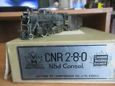HO Scale Brass Van Hobbies Canadian National 2-8-0   #2752. Fully painted