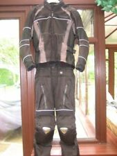 Frank Thomas Men Back Motorcycle Two Pieces Riding Suits