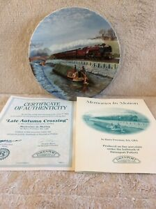 DAVENPORT LIMITED EDITION - 'LATE AUTUMN CROSSING' - MEMORIES IN MOTION 2577D