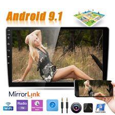 "10.1"" Autoradio con GPS NAVI BLUETOOTH USB Android 9.1 2DIN 2.5D vetro temperato"