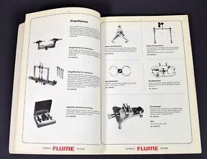 Katalog - Werkzeugkatalog Flume Uhrmacherwerkzeug f Uhrmacher Goldschmied