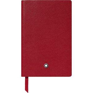 MONTBLANC Notebook / Notizbuch, #148, Rot/Red, liniert / lined, 118039, NEU