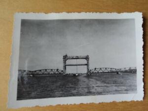 Karnin Kamp Usedom Brücke Hubbrücke Totalansicht Foto Eisenbahn Reichsbahn