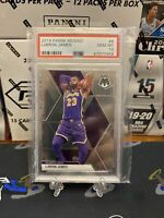 LeBRON JAMES 2019-20 PANINI MOSAIC # 8 PSA 10 GEM MINT LOS ANGELES LAKERS