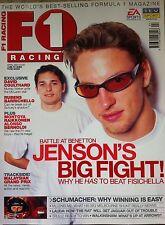 LOTUS 98T, BARRICHELLO, JENSON, KIMI and ALONSO starting off in F1, 2001magazine