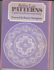 37 BOBBIN LACE PATTERNS WITH TEAR-OUT PRICKINGS BOOK