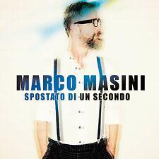 Marco Masini - Spostato di un secondo CD (new album/disco sealed)