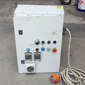 PLC system Enclosure control box Omron TEMPERATURE CONTROLLER Brewing Automatic