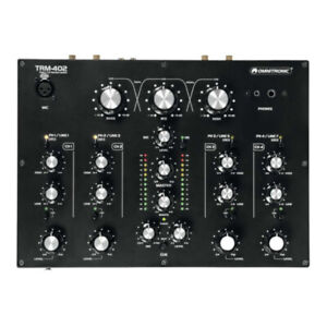 Omnitronic TRM-402 4 Channel Rotary DJ Mixer