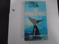 Visions Of The Sea - The Bowhead Whale Vhs New