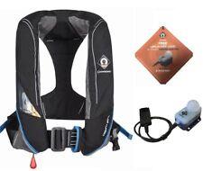 Crewsaver Crewfit Pro180N Lifejacket Auto Harness Black pn 9025BKA Free light