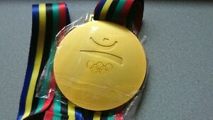 Goldmedaille Gold Olympia Olympische Spiele Medaille Barcelona 1992