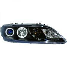 LHD Headlight Headlamp Pair LED Dragon Clear Black H1 h1 H3 For Mazda 6 02-05