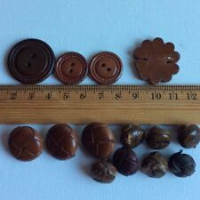 Leather Jackets & Coats Sewing Buttons