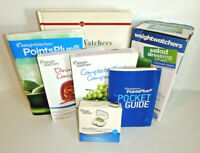 Mixed STARTER Lot - WEIGHT WATCHERS Books + Points Plus Calculator & Salad Cruet