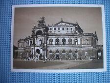 AK Dresden Semper Oper 40 Jahre DDR ungelaufen