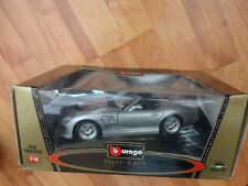 1/18 BURAGO CLASSIC - SHELBY SERIES 1 - DIECAST MODEL CAR