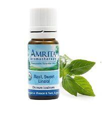 Amrita Aromatherapy Basil Sweet Linanol Essential Oil 10 ml