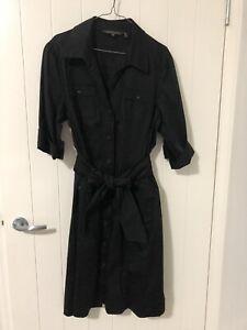 Sportscraft Black Shirt Dress 18