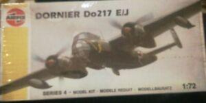 Dornier Do 217 E/J Kit Montaggio Aerei Airfix 1/72