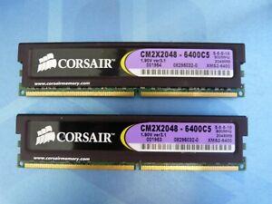 RAM Corsair 2x2GB XMS2-6400 DDR2 800Mhz 240 PIN DIMM CM2X2048-6400C5 v3.1