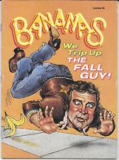 Bananas Magazine The Fall Foul Guy #60 1982 VG Free Bag/Board