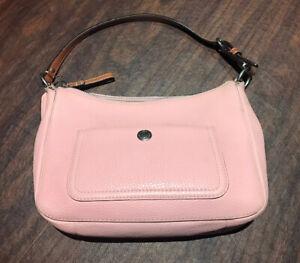 Coach Purse - Pink Pebble Finish Leather