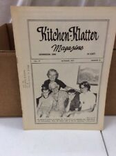 Vintage Kitchen Klatter Magazine local Recipes Shenandoah Iowa October 1973