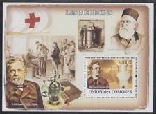 COMORES-2008-LOUIS PASTEUR-Médecins-1 bloc neuf dentelé