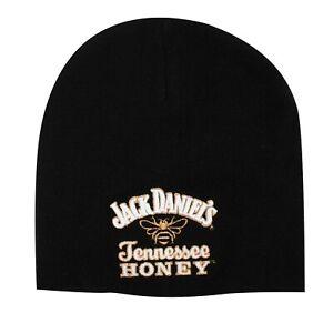 Jack Daniels Black Tennessee Honey Logo Beanie Black