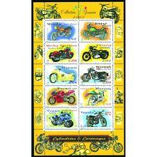 Bloc Feuillet BF51 - Collection jeunesse - Cylindrées et carénages - 2002
