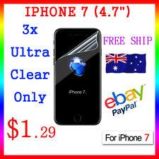 "3x LCD HQ Ultra Clear Screen Film Display Protector Apple Guard iphone7 4.7"" Au"