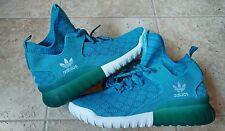 New Adidas Tubular X Prime Knit Aqua Blue B25592 Mens Shoes Size 10