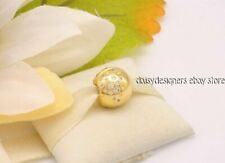 NEW Pandora Shine SCATTERED SPARKLE CLIP Charm Gold Plate 767900CZ RETIRED
