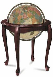 Replogle Queen Anne Illuminated Floor Globe, Antique