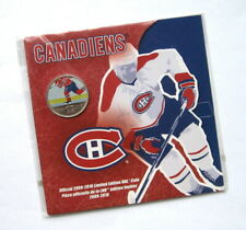 Royal Canadian Mint NHL Montreal Canadiens 2009 2010 Coloured Coin