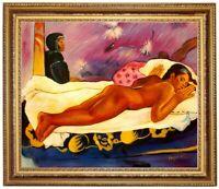 Ölbild,erotische Frau,Farbwahn, Paul Gauguin,Gemälde HANDGEMALT F:50x60cm