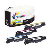 4Pk SPS Premium Brother TN227BK TN227C TN227M TN227Y HY Compatible Toner w/ Chip