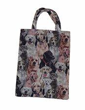 2x Tragetasche Einkaufstasche Einkaufsbeutel Tasche Beutel Bag Hunde Tüte