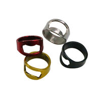 Stainless Steel Finger Thumb Ring Beer Soda Bottle Openers Home Party Bar Tool