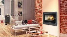 Fireplace cassette/insert KRATKI ARKE 75 4kw-11kw wood burning stove