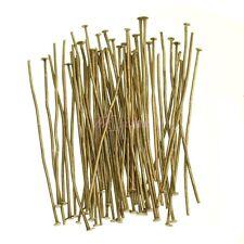 Lots100 pcs Silver Golden Head/Eye/Ball Pins Finding 21 Gauge any size U choose