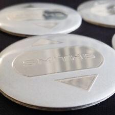 4 x Smiths 45mm Diameter Alloy Wheel Badge Sticker Decal Logo for Centre Caps