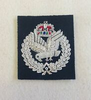 Army Air Corps Beret Badge, AAC, A.A.C, Officers, Cap, Headwer, Embroidered