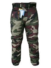 NEW Motorcycle Camouflage Waterproof Motorbike Motocross Textile Armour Trouser