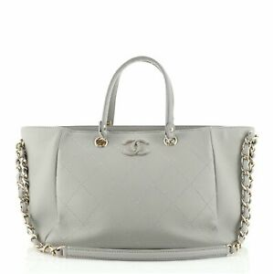 Chanel Neo Soft Shopping Tote Quilted Bullskin Small