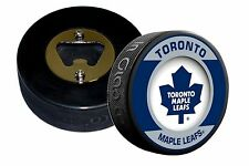 Toronto Maple Leafs Retro Series Hockey Puck Bottle Opener