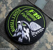 GENERAL DYNAMICS F16 FIGHTING FALCON SWIRL burdock Swirl Patch: Night Vision